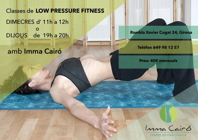 LOW PRESSURE FITNESS-IMMA CAIRÓ